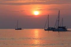 Beach Sunset Phuket Thailand Royalty Free Stock Photo