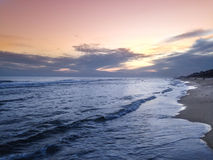 Beach Sunset. Rosemary Beach, Florida, Summer 2014 Royalty Free Stock Photography