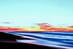 Beach sunset sea sunrise water royalty free stock image