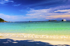 Beach in sunset time Koh Lipe Stock Images