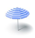 Beach sunshade Royalty Free Stock Images