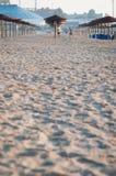 Beach sunshades Royalty Free Stock Photos