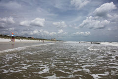 Beach. Sunshine Florida beach in the summer time Royalty Free Stock Photography