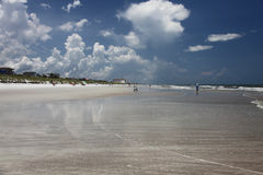 Beach. Sunshine Florida beach in the summer time Stock Image