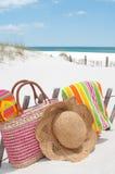 Beach supplies Stock Photo