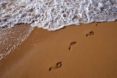 Beach Surf Stock Image