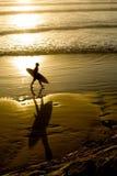 Beach surfer Royalty Free Stock Photo
