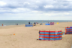 Beach at Sutton-on-sea. Stock Photos