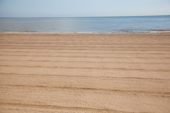 The beach at sutton on sea Stock Images
