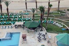 Beach swimming pool Stock Image