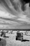 Beach of Sylt Royalty Free Stock Photos