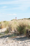 Beach on sylt island stock photography