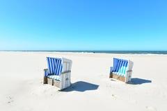 Beach Sylt Stock Images