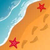 beach tło Zdjęcie Stock