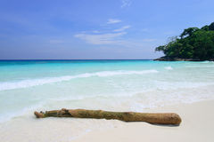 Beach at Tachai island, Thailand Stock Photo