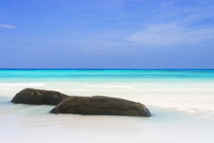 Beach at Tachai island, Thailand Stock Photography