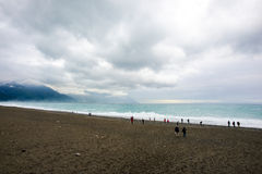 Beach of Taiwan Stock Images