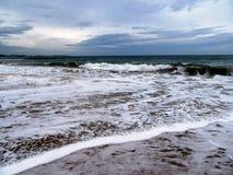 On the beach of Tangalle / Sri Lanka Royalty Free Stock Image