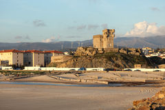 Beach in Tarifa, Andalusia Spain Royalty Free Stock Images