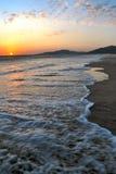 Beach of Tarifa - Spain Royalty Free Stock Photos