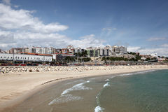 Beach of Tarragona, Spain Stock Photos