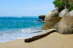 Beach of Tayrona national park, Colombia Stock Photo