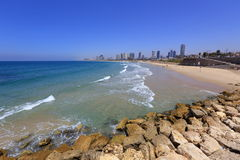 Beach of Tel Aviv Stock Image