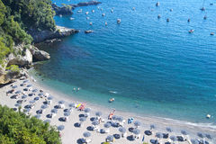 Beach Tellaro Liguria Italy Royalty Free Stock Images