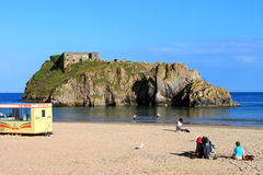Beach At Tenby Stock Photography