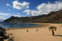 Beach on Tenerife royalty free stock photography