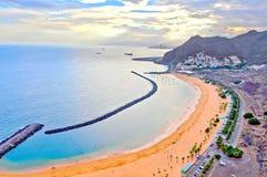 Beach in Tenerife Stock Image