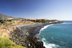 Beach,Tenerife. Stock Images