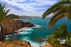 Beach in Tenerife island - Canary Stock Images