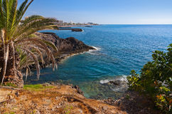 Beach in Tenerife island - Canary Royalty Free Stock Images