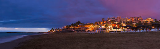 Beach in Tenerife island - Canary Royalty Free Stock Photo