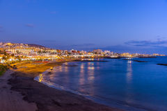 Beach in Tenerife island - Canary Royalty Free Stock Image
