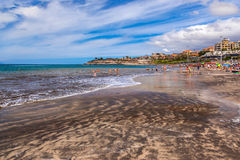 Beach in Tenerife island - Canary Stock Photography