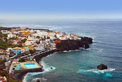 Beach in Tenerife island - Canary. Spain Stock Image