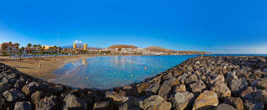Beach in Tenerife island - Canary Royalty Free Stock Photo