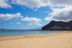 Beach of Tenerife, Spain royalty free stock image