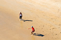 Beach Tennis Stock Image