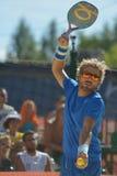 Beach Tennis World Team Championship 2014 Stock Photos