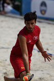 Beach Tennis World Team Championship 2015 Stock Images