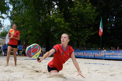 Beach Tennis World Team Championship 2015 Royalty Free Stock Photography