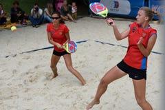Beach Tennis World Team Championship 2015 Royalty Free Stock Images