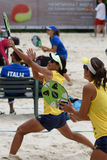 Beach Tennis World Team Championship 2015 Royalty Free Stock Image