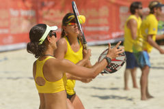 Beach Tennis World Team Championship Stock Photography