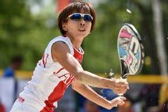 Beach Tennis World Team Championship 2015 Stock Photos
