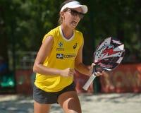 Beach Tennis World Team Championship 2014 Royalty Free Stock Image
