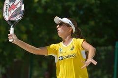 Beach Tennis World Team Championship 2014 Royalty Free Stock Photography